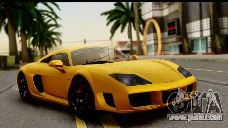 Noble M600 2010 HQLM for GTA San Andreas