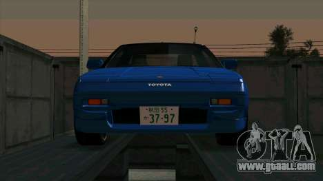 Toyota MR2 1600 G-Limited (AW11) for GTA San Andreas left view