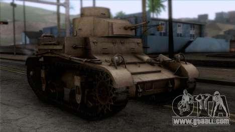 M2 Light Tank for GTA San Andreas