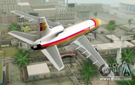 Lookheed L-1011 Iberia for GTA San Andreas left view