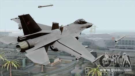 F-16C Block 52 PJ for GTA San Andreas left view