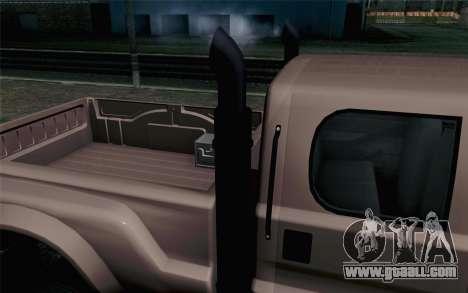 Vapid Guardian GTA 5 for GTA San Andreas back view