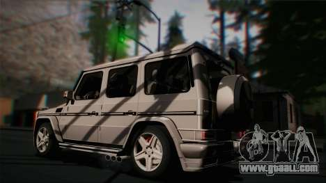 Mercedes-Benz G65 2013 Hamann Body for GTA San Andreas side view