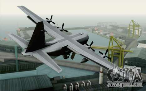 C-130H Hercules USAF for GTA San Andreas left view