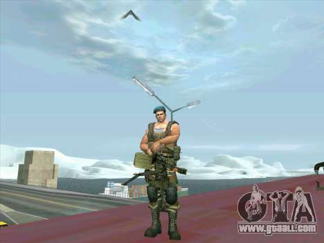Tank gun Cord for GTA San Andreas