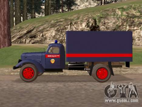 ZIL 157 police for GTA San Andreas left view