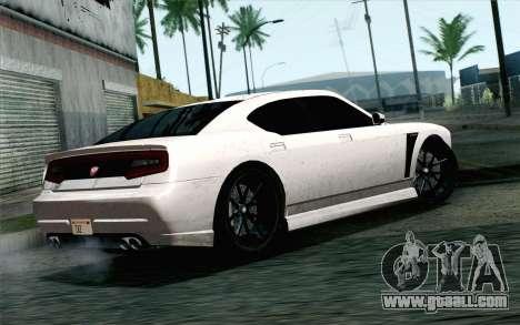 GTA 5 Bravado Buffalo S v2 IVF for GTA San Andreas left view