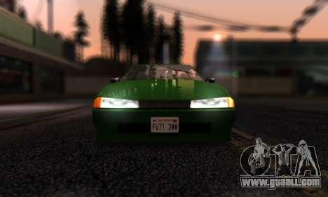 Elegy I Love GS v1.0 for GTA San Andreas inner view