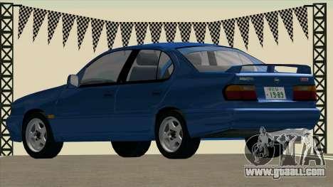 NISSAN Primera 2.0Te (P10) for GTA San Andreas left view