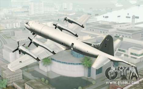 Lockheed P-3 Orion German Navy for GTA San Andreas left view
