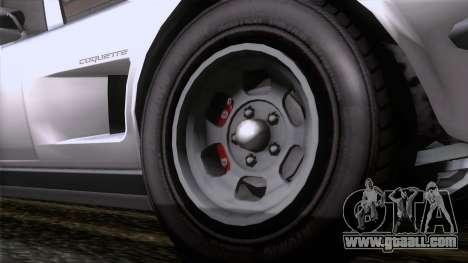 GTA 5 Invetero Coquette Classic TL for GTA San Andreas back left view