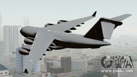 C-17A Globemaster III NATO for GTA San Andreas left view