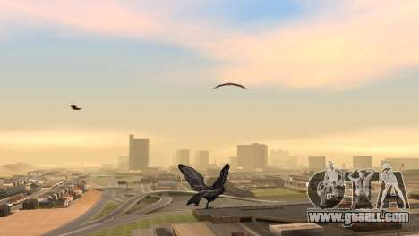 The possibility of GTA V to play for bird V. 1 for GTA San Andreas second screenshot