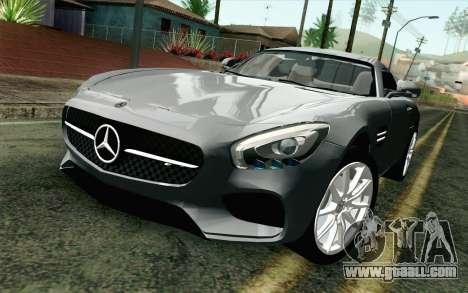 Mercedes-Benz AMG GT 2015 for GTA San Andreas