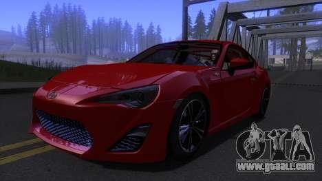 Scion FR-S 2013 Stock v2.0 for GTA San Andreas