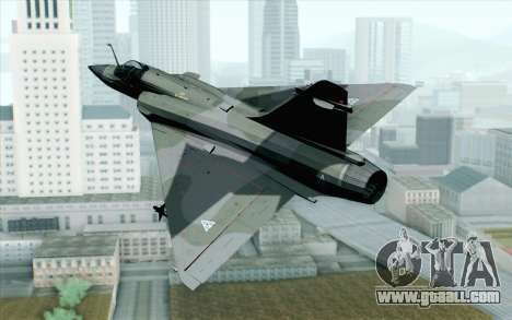 Dassault Mirage 2000 ISAF for GTA San Andreas left view