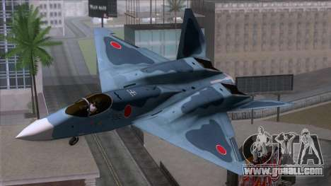 YF-23 JASDF for GTA San Andreas