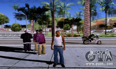 ENB Series EvoGraphics v 1.0 for GTA San Andreas sixth screenshot