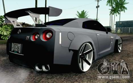 Nissan GT-R 2014 RocketBunny for GTA San Andreas left view