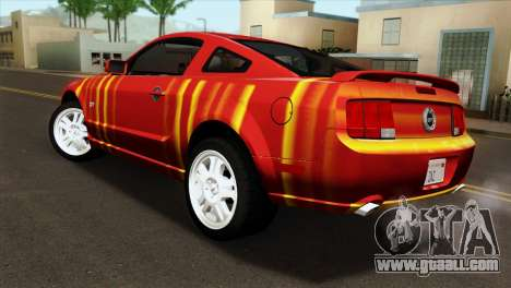 Ford Mustang GT PJ for GTA San Andreas left view