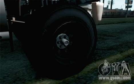 Vapid Guardian GTA 5 for GTA San Andreas back left view