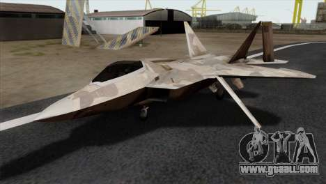 F-22 Raptor 02 for GTA San Andreas