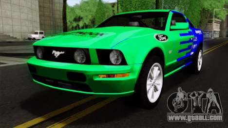 Ford Mustang GT Wheels 2 for GTA San Andreas