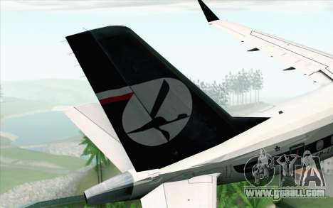 Embraer EMB-175 LOT Polish Airlines 600th E-Jet for GTA San Andreas back left view