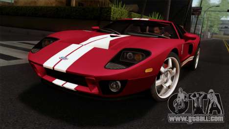 Ford GT FM3 Rims for GTA San Andreas