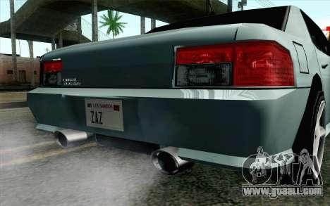 Sultan Lan Evo for GTA San Andreas right view
