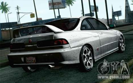 Acura Integra Type R 2001 Stock for GTA San Andreas left view