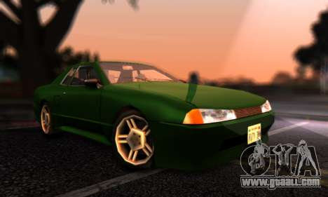 Elegy I Love GS v1.0 for GTA San Andreas