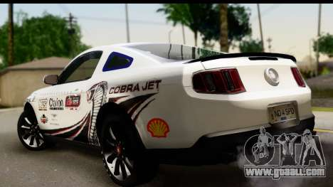 Ford Mustang 2010 Cobra Jet for GTA San Andreas left view