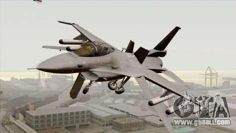 F-16C Block 52 for GTA San Andreas