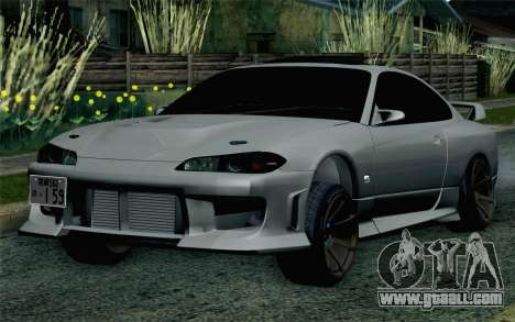 Nissan Silvia S15 SuperHero for GTA San Andreas
