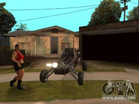 Strobe lights v3 for GTA San Andreas second screenshot