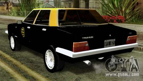 Ford Taunus 1981 Taxi Argentina for GTA San Andreas left view