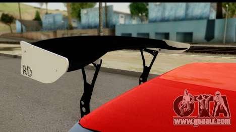 Drift Elegy Edition for GTA San Andreas back view