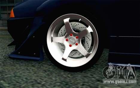 Elegy GP Sports G-SONIC EVO Kit for GTA San Andreas back left view