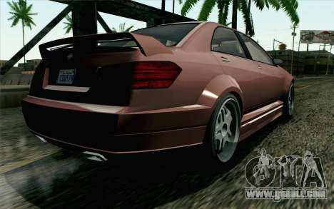 GTA 5 Benefactor Schafter SA Mobile for GTA San Andreas left view