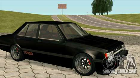Mitsubishi Lancer EX 1800GSR Turbo Zenki for GTA San Andreas right view