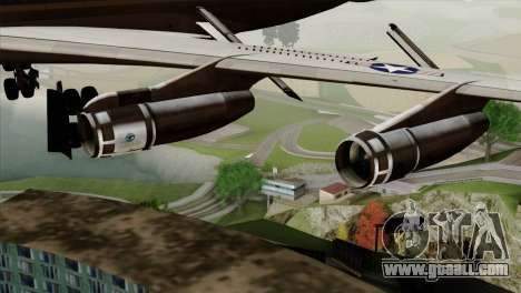 Boeing VC-137 for GTA San Andreas right view