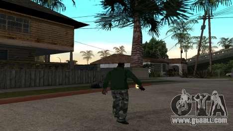 The New Molotov Cocktail for GTA San Andreas third screenshot