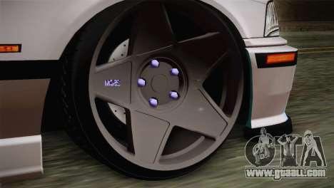 BMW E36 M3 Cabrio for GTA San Andreas back left view
