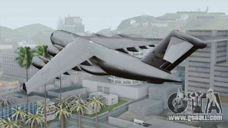 C-17A Globemaster III USAF Mississippi for GTA San Andreas left view