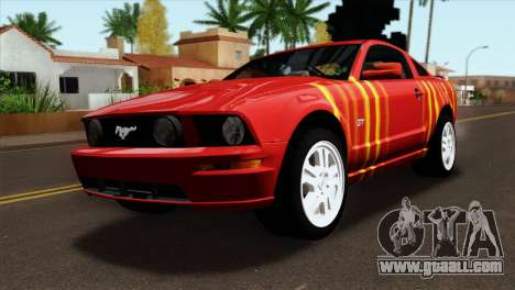 Ford Mustang GT PJ for GTA San Andreas