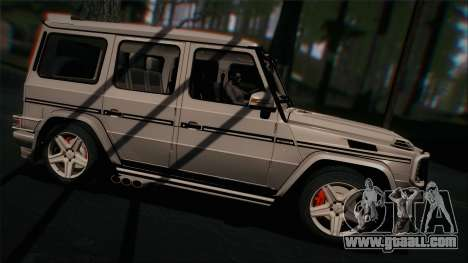 Mercedes-Benz G65 2013 Hamann Body for GTA San Andreas right view