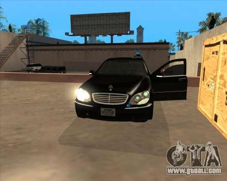Strobe lights v3 for GTA San Andreas