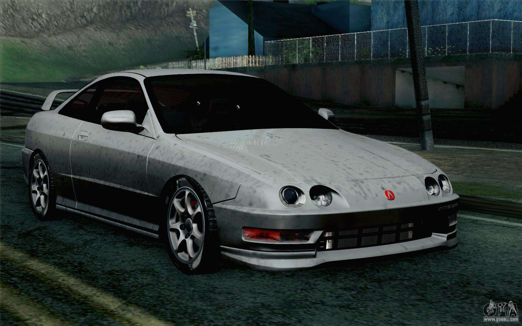 acura integra type r 2001 stock for gta san andreas. Black Bedroom Furniture Sets. Home Design Ideas