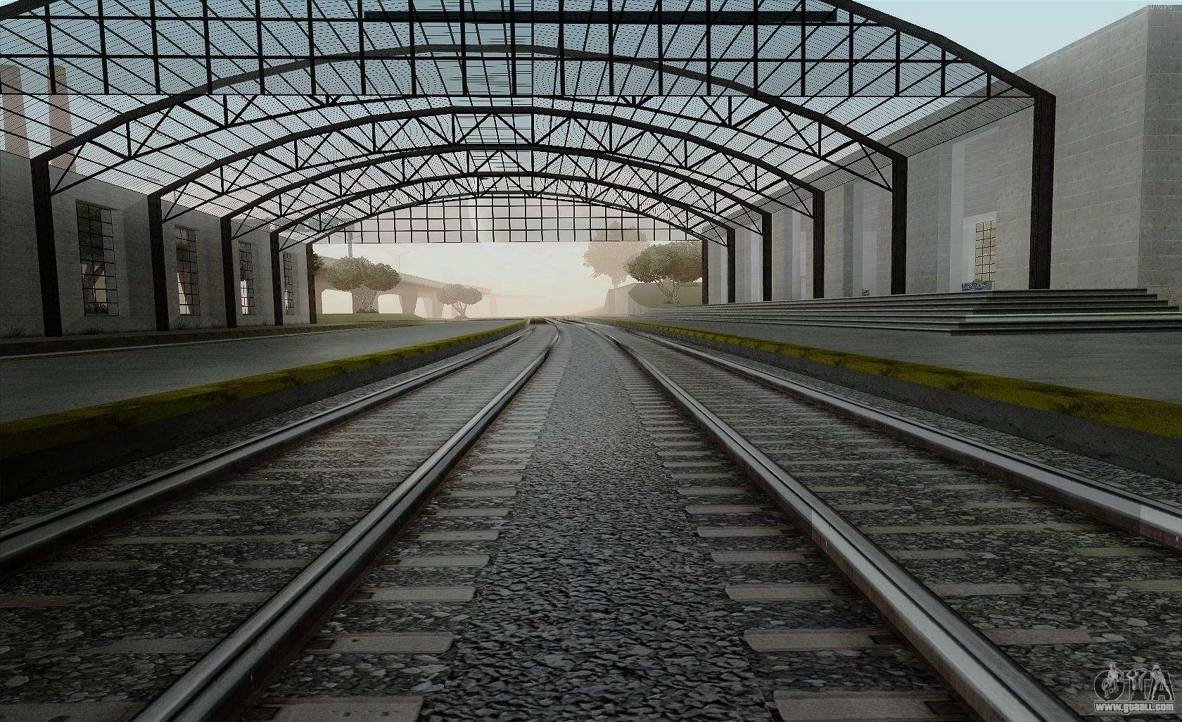 hd rails v3 0 for gta san andreas
